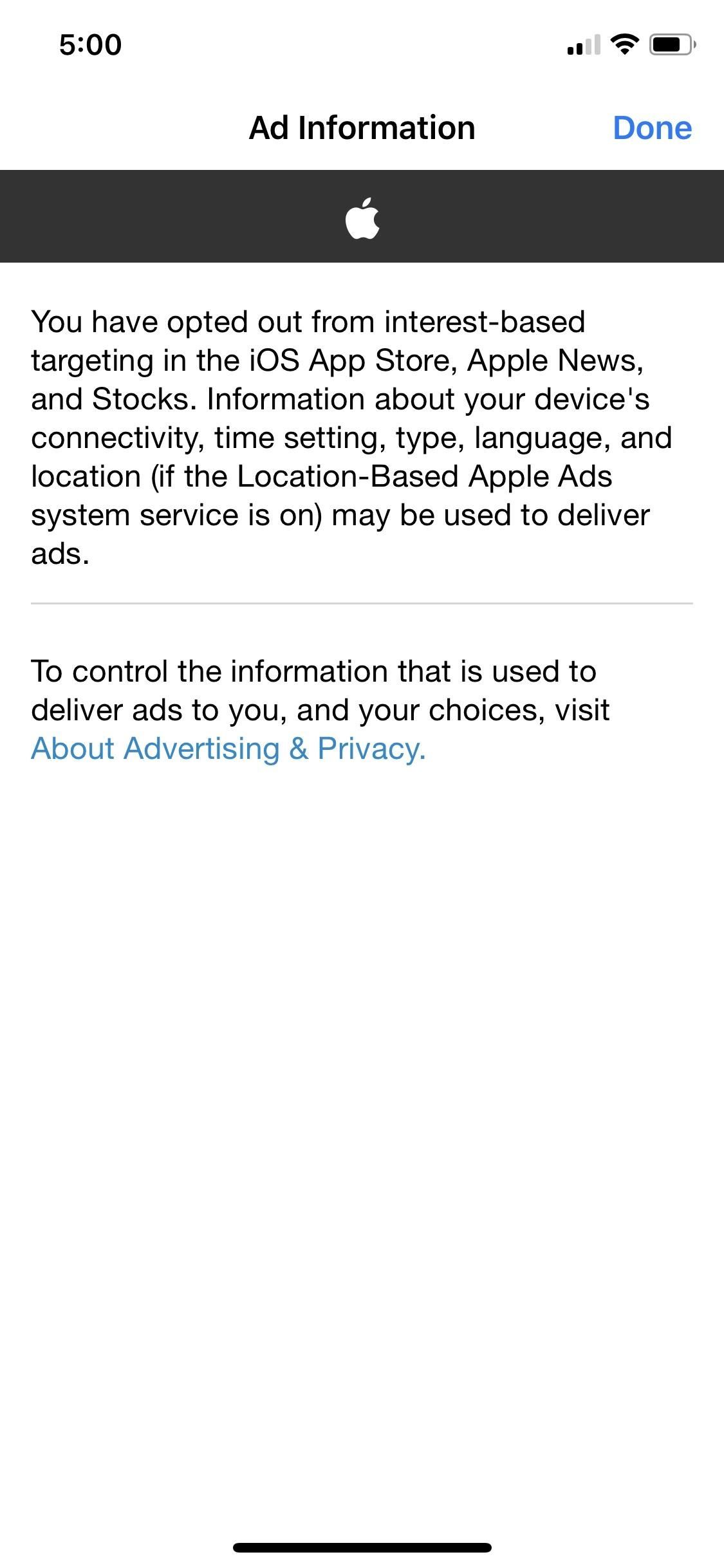 Protect Your Data from Being Used in Targeted Advertisements on iPhone
