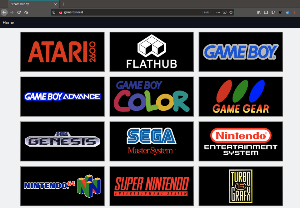 Steam Buddy makes managing your retro ROM collection a breeze. It also supports adding select apps like Spotify and KODI to Steam Big Picture.