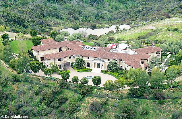 Prince Harry and Meghan Markle have been living in this ultra-luxury Beverly Hills hideout that belongs to Hollywood tycoon Tyler Perry