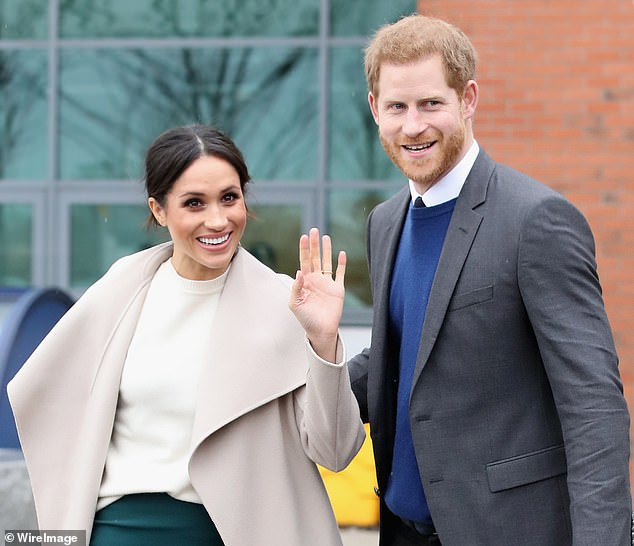 Meghan Markle is focused on networking with LA power players to create her 'brand', a new book about the royals has claimed