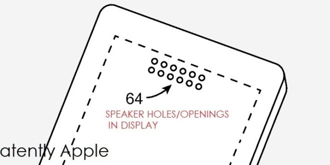 An LG Patent Surfaced this week Revealing their Audio-Through PC Display technology, something that Apple may adopt one day – Patently Apple