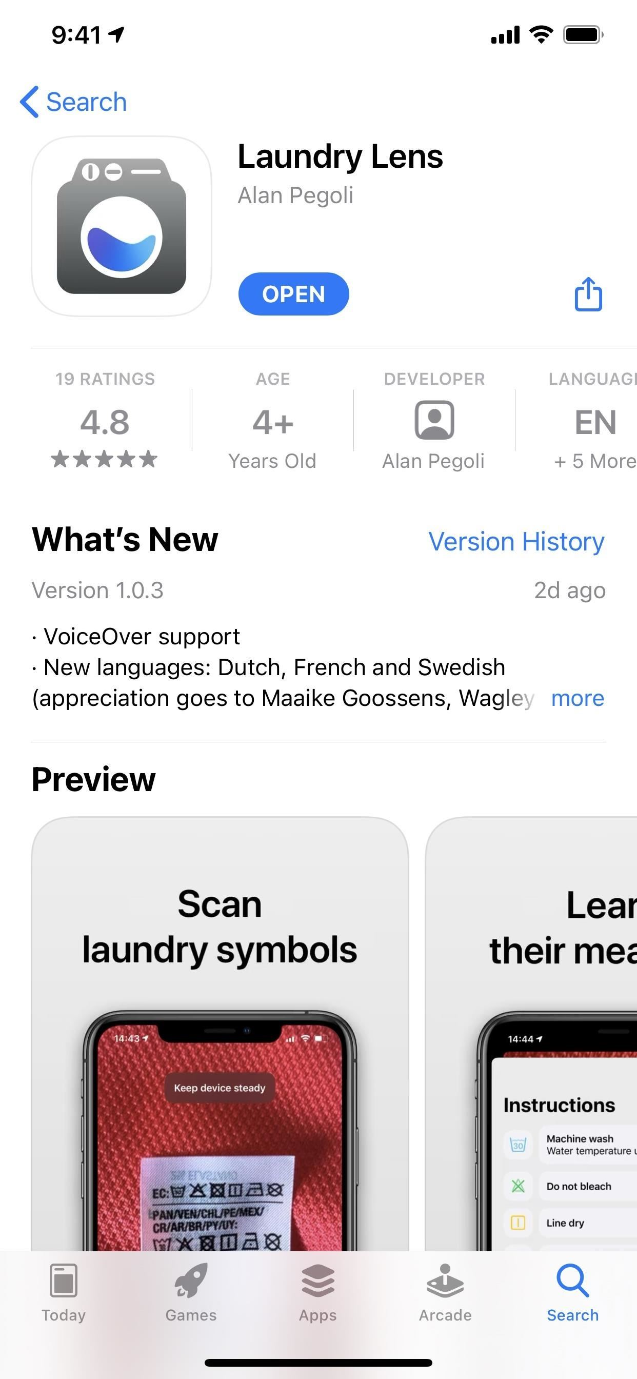Scan Laundry Care Symbols with Your iPhone to See How You're Actually Supposed to Wash Clothes