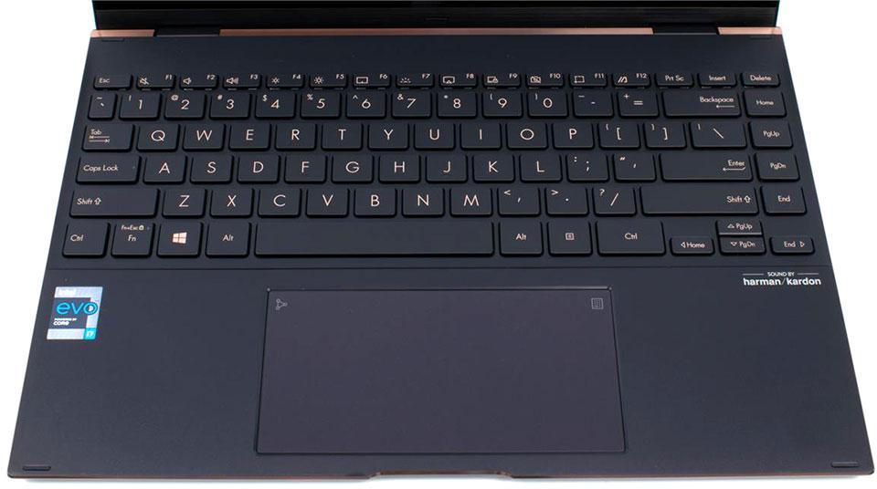ASUS ZenBook Flip S Keyboard And Trackpad