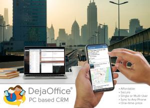 DejaOffice PC CRM on the Road to Success