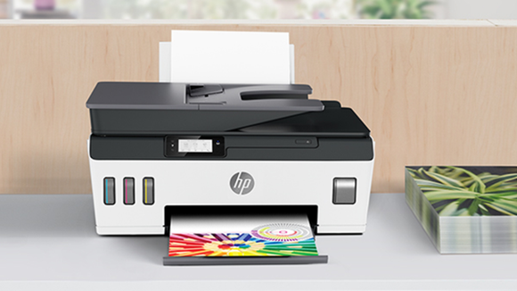 Bring the office home to you with this fast color printer.
