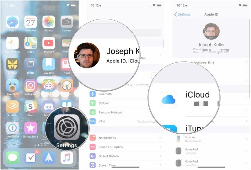 How to increase iCloud Drive storage space: Launch settings, Tap Apple ID, Tap iCloud.