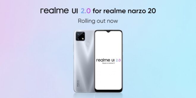 Realme Narzo 20 receiving Android 11-based Realme UI 2.0 stable update – GSMArena.com news – GSMArena.com