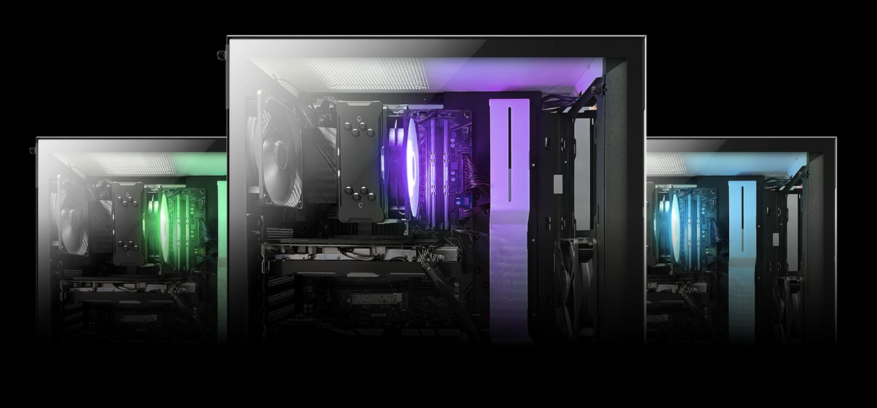 nzxt gaming pc