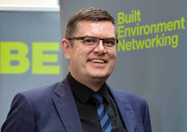 Keith Griffiths,  managing director of Built Environment Networking